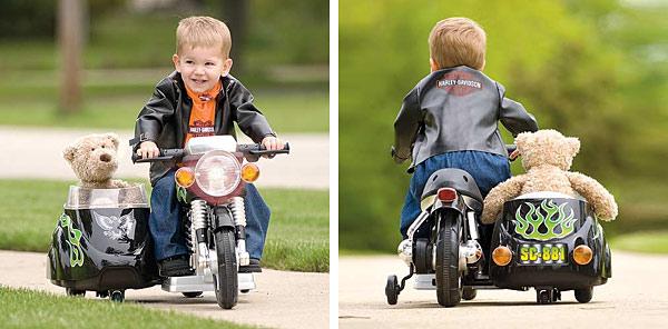 Super Motorbike and Harley Davidson Costume