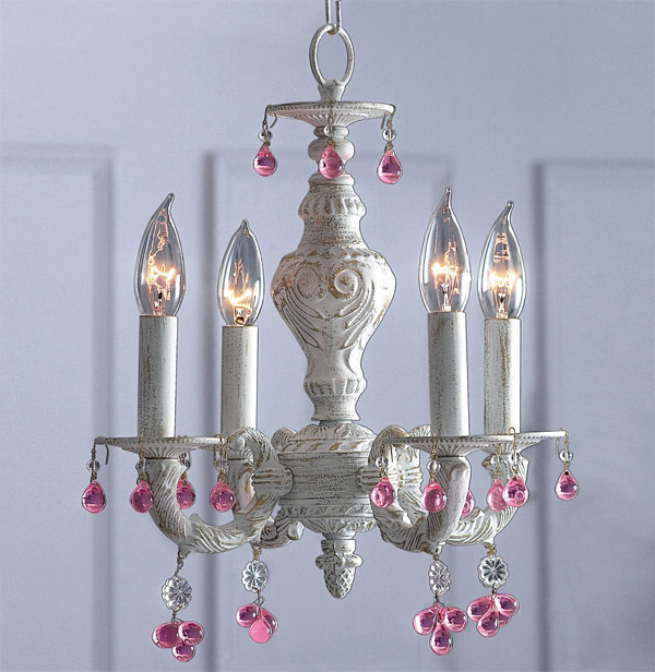 Antiqued Chandelier