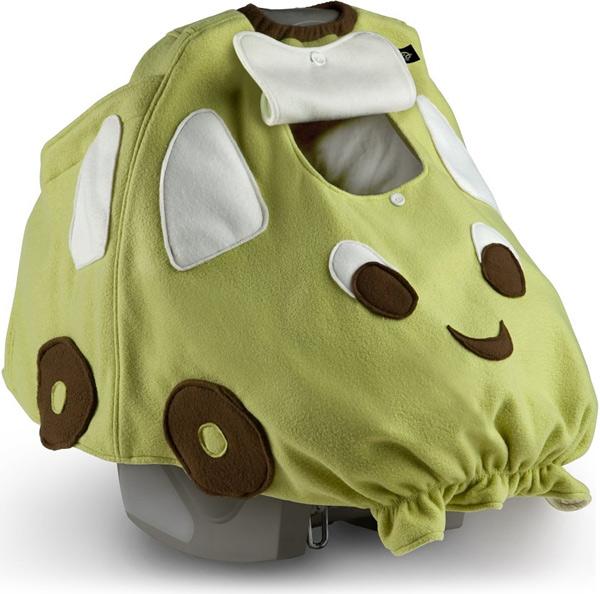 BabbaCo Snuggle Fleece Car Seat Cover BeepBeep
