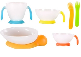 Combi Baby Dish Feeding Set