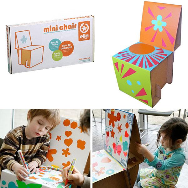 Elia Miniature Cardboard Chair Kit