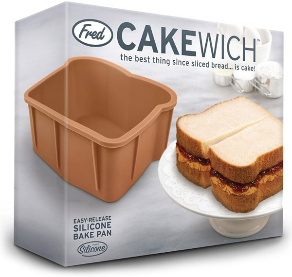 Fred & Friends Cakewich Cake Mold