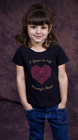 I Grew In Mommy's Heart T-Shirt