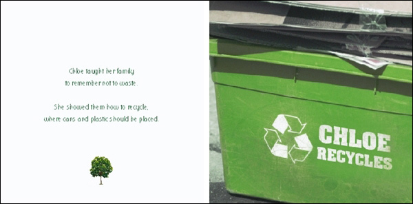 Saves the Planet Personalized Book