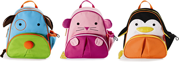 Skip Hop Zoo Pack Little Kid Backpacks
