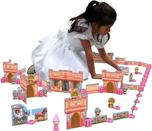 Sprig Toys Blocks Secret Castle Playset