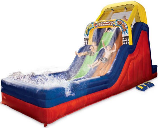 The Giant Waterslide Dragstrip
