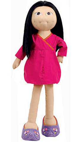 Brownstone Buddies Miko The Travel Scout Cloth Doll