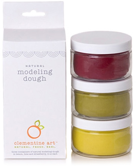 Clementine Art Natural Modeling Dough