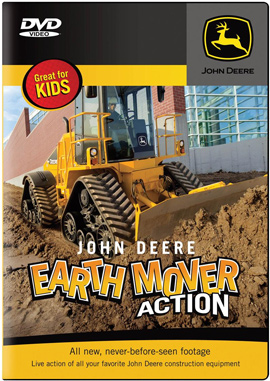 John Deere Earth Mover Action DVD