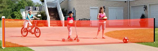 Kid Kusion Kid Safe Retractable Driveway Guard