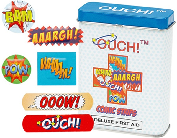 Ouch! Comic Strips Bandages
