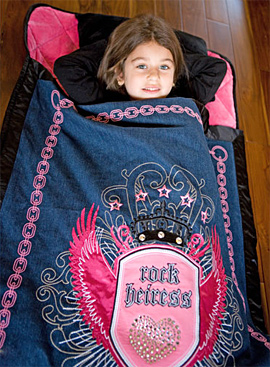 Rock Heiress Nap Mat