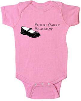The Precious Club Future Carrie Bradshaw Onesie