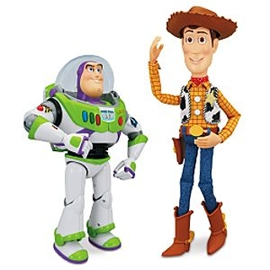 Toy Story Interactive Buzz and Woody Dolls