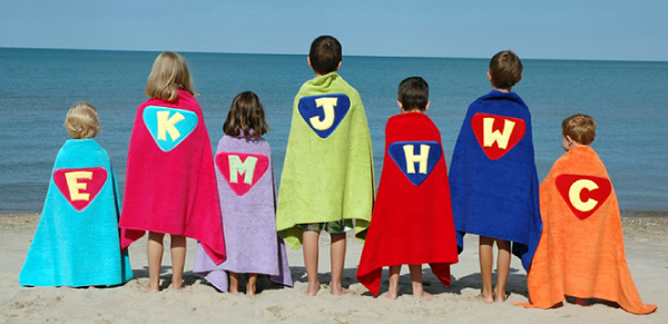 Wonder Kids Handmade Bath Cape