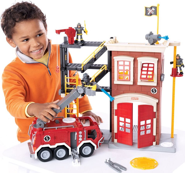 Fisher-Price Imaginext Fire Truck Playset