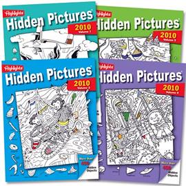 Highlights Hidden Pictures 2010 Book Set