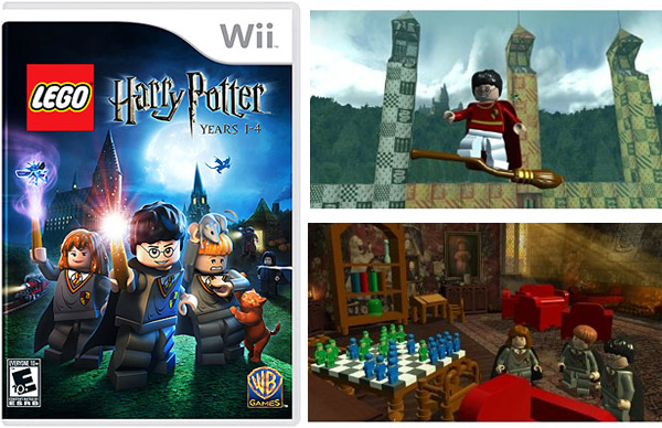 harry potter castle lego. LEGO Harry Potter: Years 1-4
