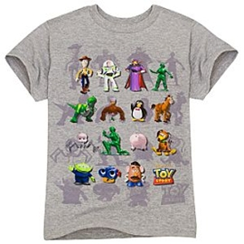 Organic Cast of Toy Story Tee