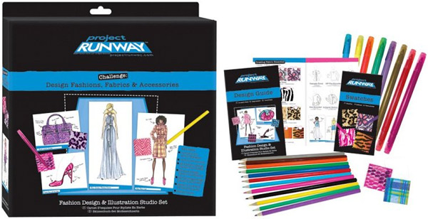 Project Runway Fashion Design and Illustration Studio Kit