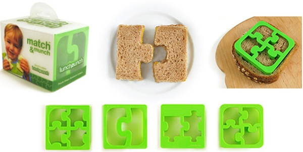Puzzle Piece Sandwich Cutters