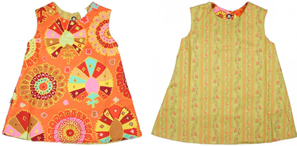 Right Bank Babies Reversible Dress