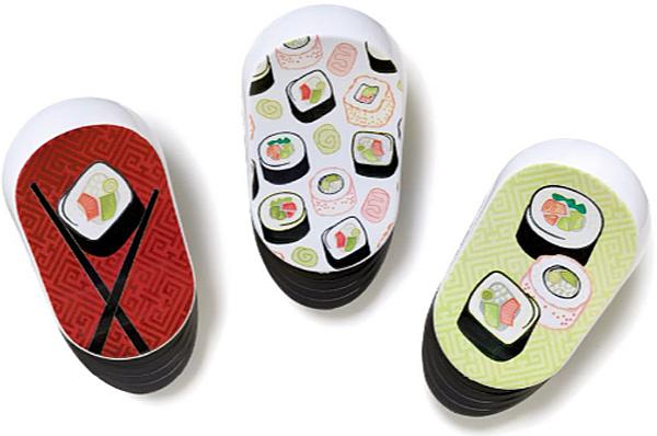 Sushi Magnetic Clips Set