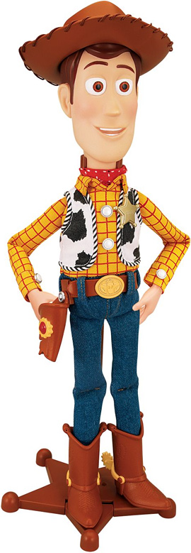 Thinkway Toys Sheriff Woody Action Figure