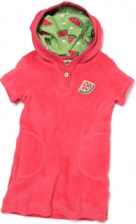Watermelon Girl's Pullover Dress