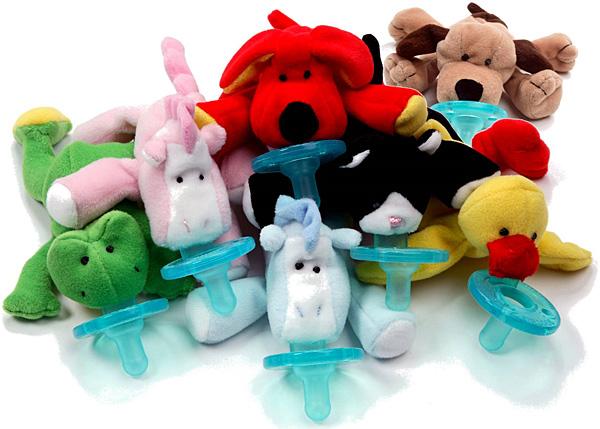 WubbaNub Plush Pacifier Toy