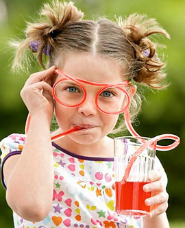 Straw Glasses