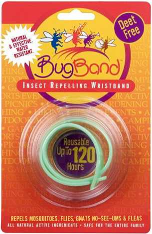 Bug Band - Deet Free Insect Repelling Band
