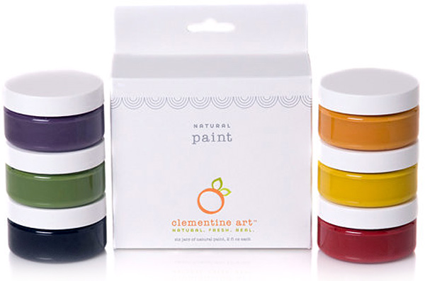 Clementine Art Natural Paint