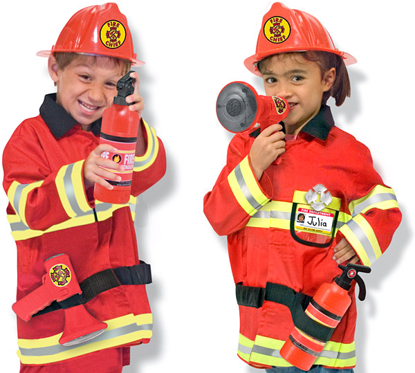 Melissa & Doug Fire Chief Role Play