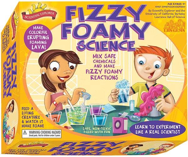 Scientific Explorer's Fizzy Foam Science Kit