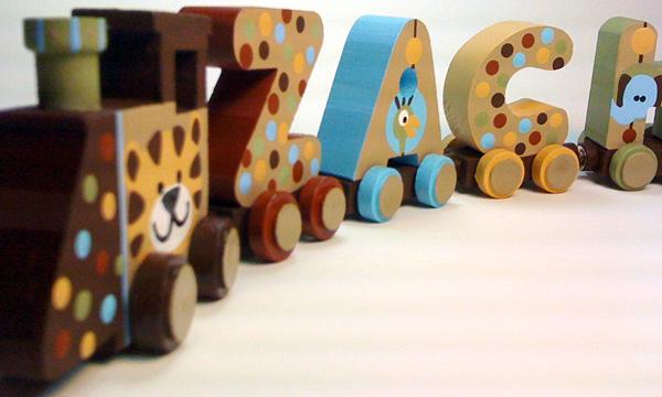 Vibrant Trains Nine Letter Name Train