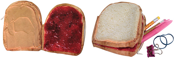 Yummy Pocket Peanut Butter & Jelly Organizer