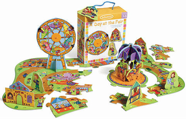 Infantino's A day at the Fair Preschool Puzzle
