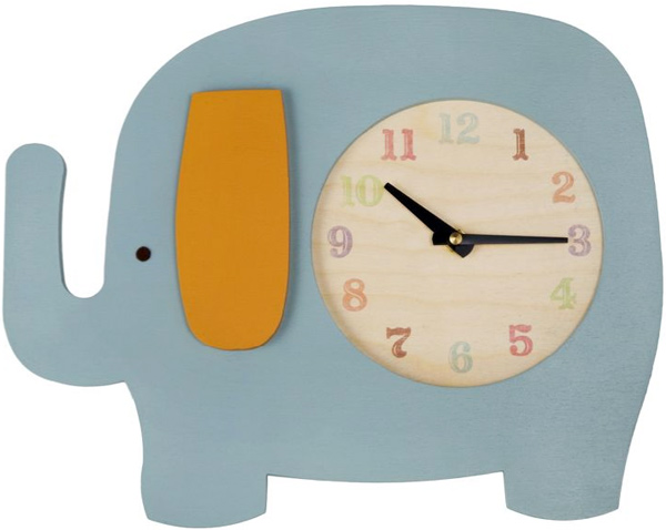 Keep on Trunking Elephant Clock