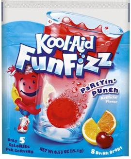 Kool Aid Fun Fizz