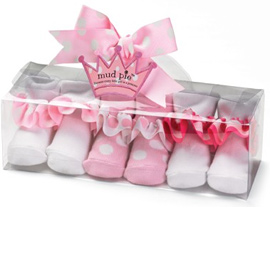 Mud Pie Little Princess Ruffle Socks
