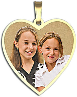 Photo Engraved Petite Charms