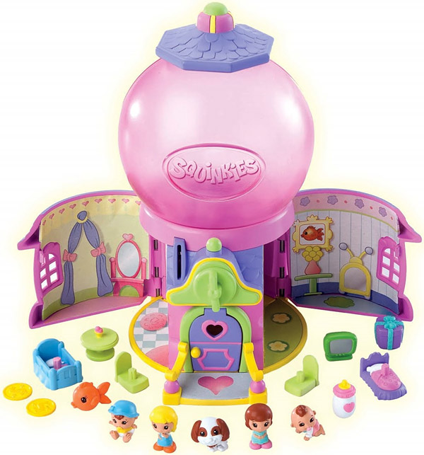 Squinkies Gumball Surprise Playhouse