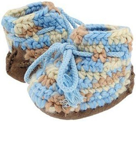 How to Crochet Baby Booties | eHow.com