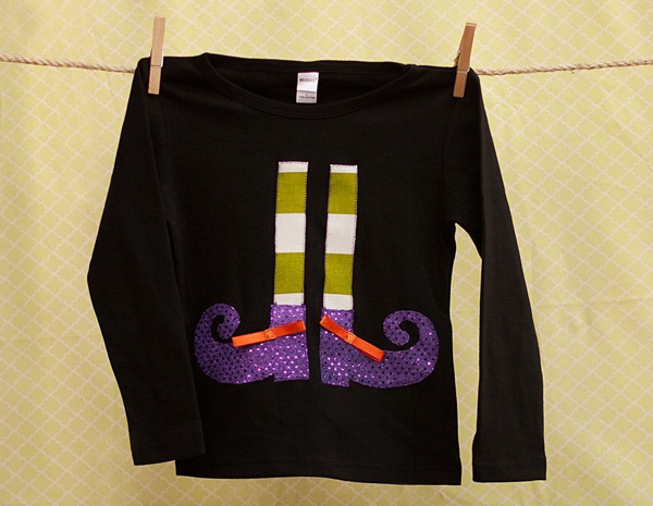 Witchy Footsies Shirt