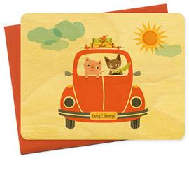 Beep! Beep! Bug Card