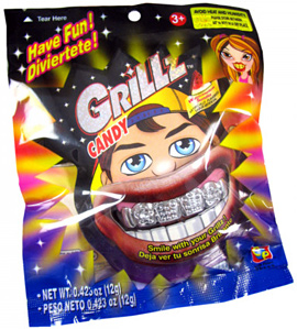 Candy Planet Sour Grillz Novelty Candy