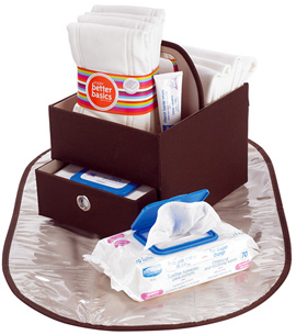 Decked-Out Diaper Caddy Gift Set