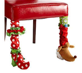 Holiday Table Leg Covers